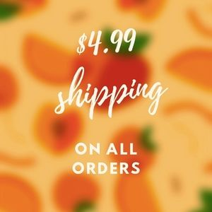 🍑$4.99 shipping on all orders $20+🍑